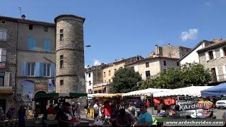 Les Vans (Ardèche) (4K)