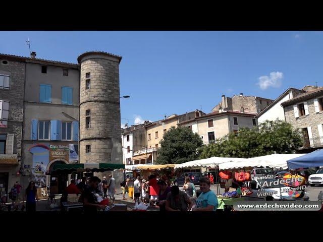 Les Vans (Ardèche) (4K) - YouTube