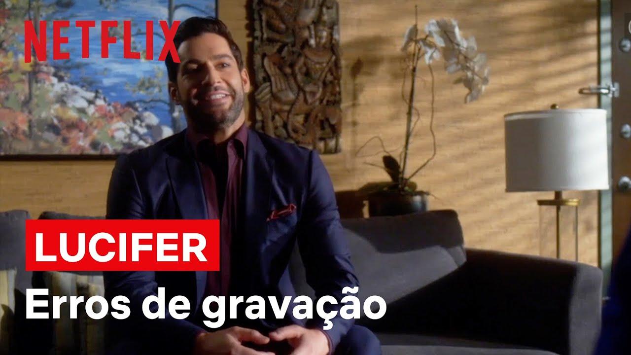 Erros de gravação de Lucifer | Netflix Brasil