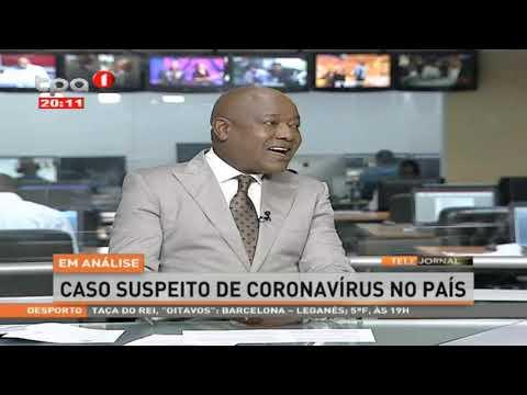 Em Análise: Caso suspeito de Coronavírus no país