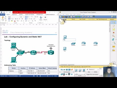5.2.2.6 Lab - Configuring Dynamic and Static NAT