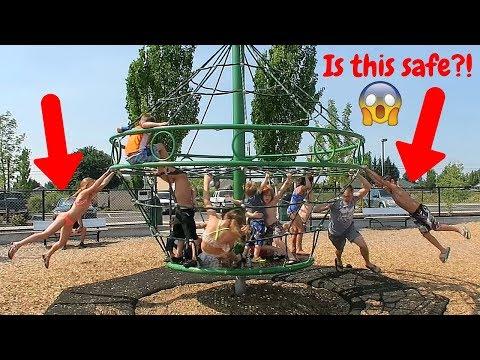 Dangerous Playground Equipment!