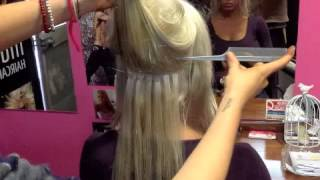 How to Apply MicroTape Hair Extensions Thumbnail