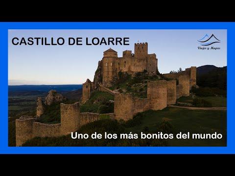 CASTILLO DE LOARRE (HUESCA) 🏰 -  VISTA DE DRON 4K