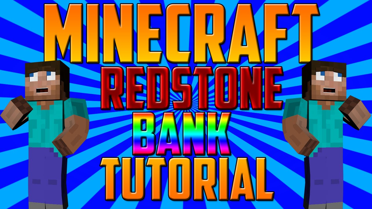 ✓ working redstone bank (redstone tutorial) youtube.