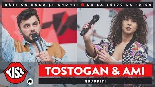 Tostogan&#39S feat. AMI - Graffiti (Live Kiss FM)