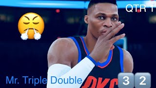 NBA 2K18 MyCareer | Russ UNSTOPPABLE 😤| Road To The Finals