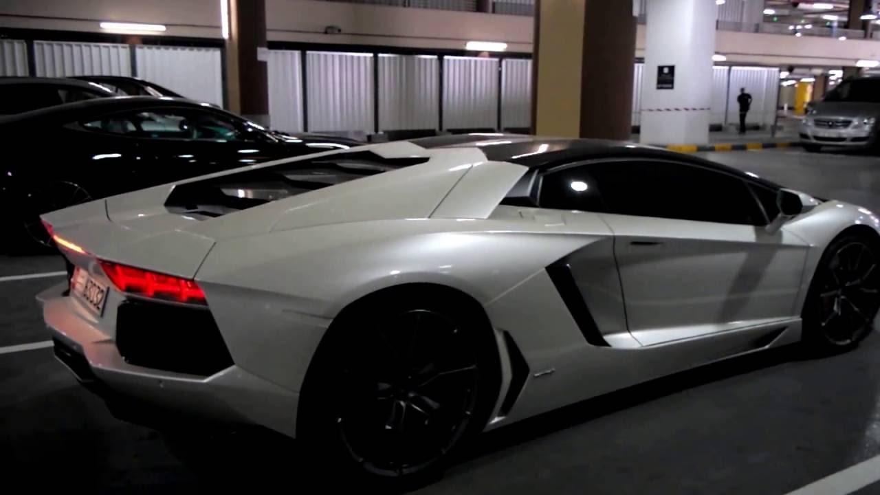 Lamborghini Aventador Lp700 4 In Matte Pearl White Paint Bianco Canopus