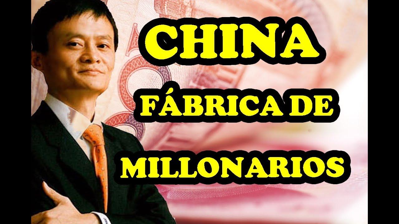 CHINA crea más MILLONARIOS que nunca