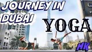 24.10.15 | Vlog & Yoga | Burj Khalifa & Burj al Arab | Dubai