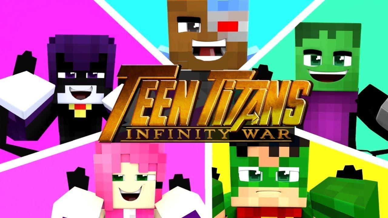 Minecraft Infinity War - Thanos' Evil Wrath! (Minecraft Roleplay)