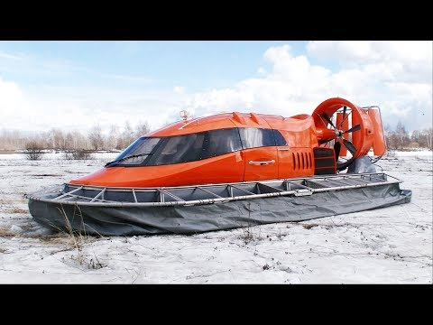 Lets fly on this incredible Hovercraft! Full review!