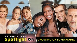 Cast of Growing Up Supermodel Interview | AfterBuzz TV's Spotlight On