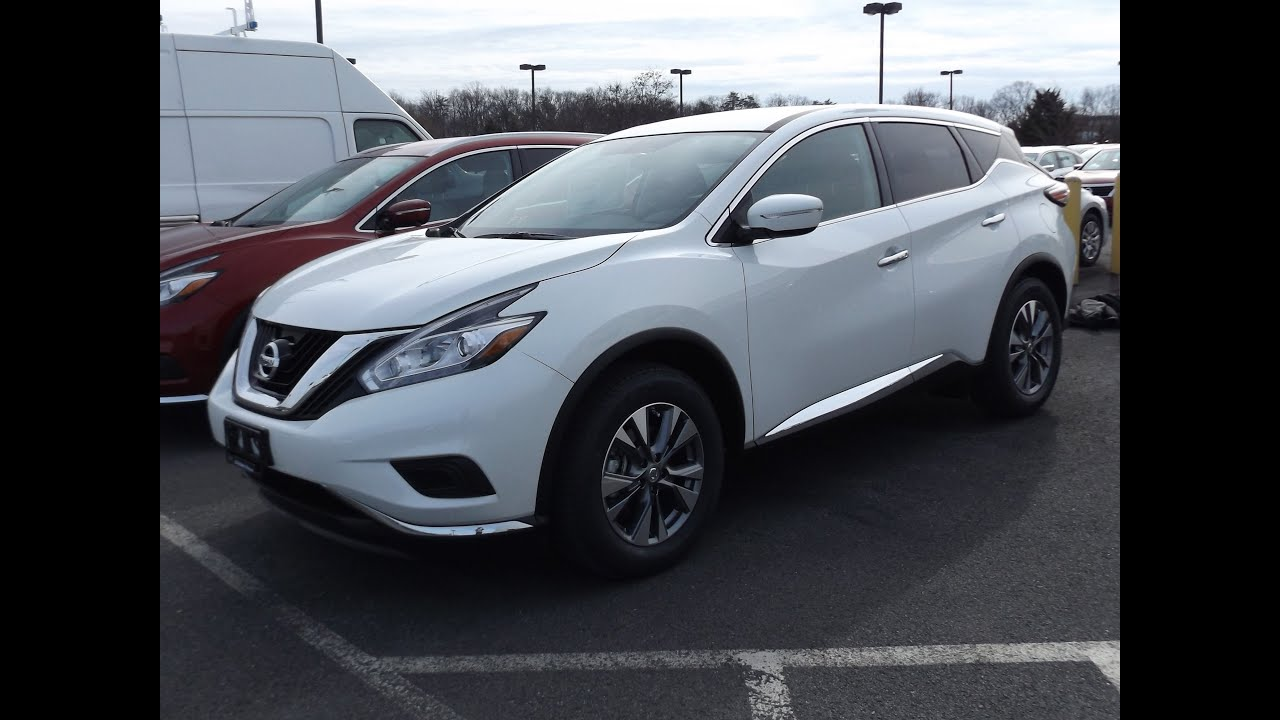 2015 nissan murano s 3 5l v6 start up tour and review doovi. Black Bedroom Furniture Sets. Home Design Ideas