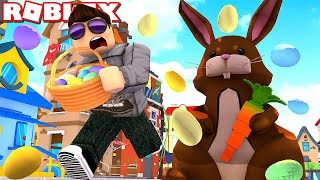 THE EASTER BUNNY IS AFTER US! -ROBLOX * Obby Wednesday * Danish with ComKean