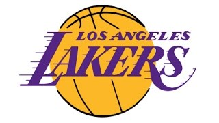 How to Draw a LA Lakers logo / Как нарисовать Логотип Ла Лейкерс