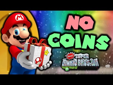Can you beat Newer Super Mario Bros. Wii: Holiday Special WITHOUT COINS?