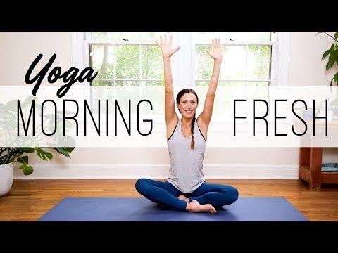 Yoga Morning Fresh  |  Yoga Claas With Adriene
