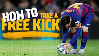 HOW TO take a free-kick (MESSI, RONALDINHO, IBRAHIMOVIC, ... free-kick compilation)