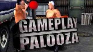 Gameplay Palooza - PlayStation - WCW Backstage Assault Gameplay