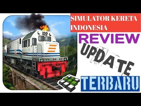 Simulator Kereta Indonesia | REVIEW UPDATE TERBARU | ANDROID GAMEPLAY HD