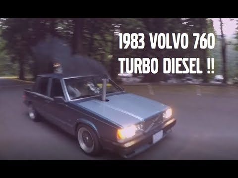ROLLING COAL IN A 1983 VOLVO 760 TURBODIESEL !