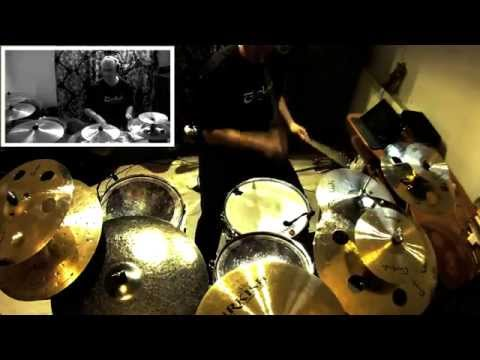 Turkish Cymbals Setup Test. Endorser Paweł Twardoch