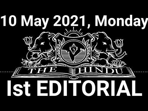 The Hindu Editorial Today | The Hindu Newspaper Today | 10 May 2021 | lockdown gains