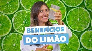 BENEFÍCIOS DO LIMÃO - como tomar água com limão para emagrecer