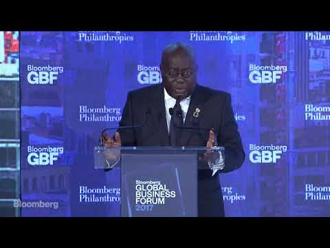 Ghana President Akufo-Addo on the Future of Sustainable Development