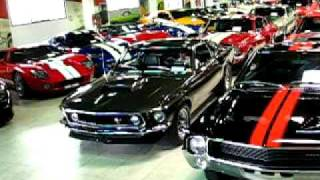 Parking the 1969 MUSTANG BOSS 429 after the Car Show
