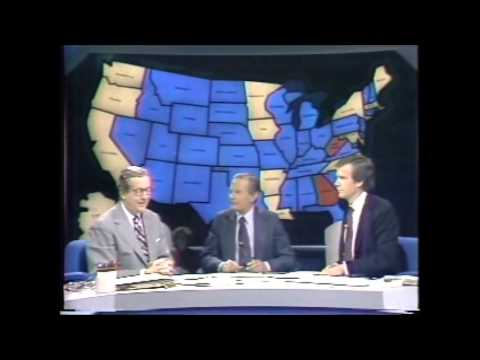 US Election Night 1980                NBC live coverage 11-4-1980
