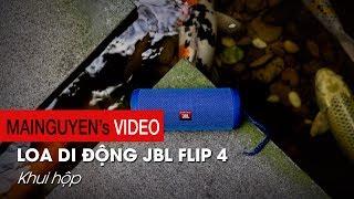 Khui hộp JBL Flip 4 đầu tiên tại Việt Nam: Nâng cấp toàn diện - www.mainguyen.vn
