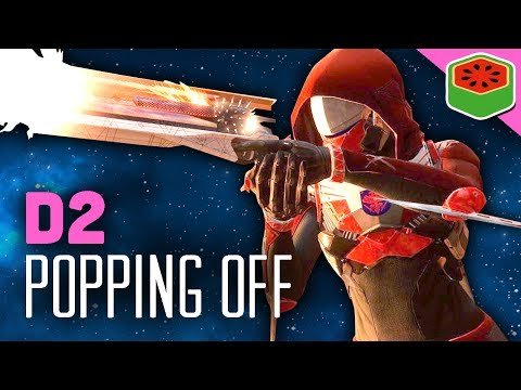 POPPING OFF WITH HUNTER! | Destiny 2 Beta Gameplay