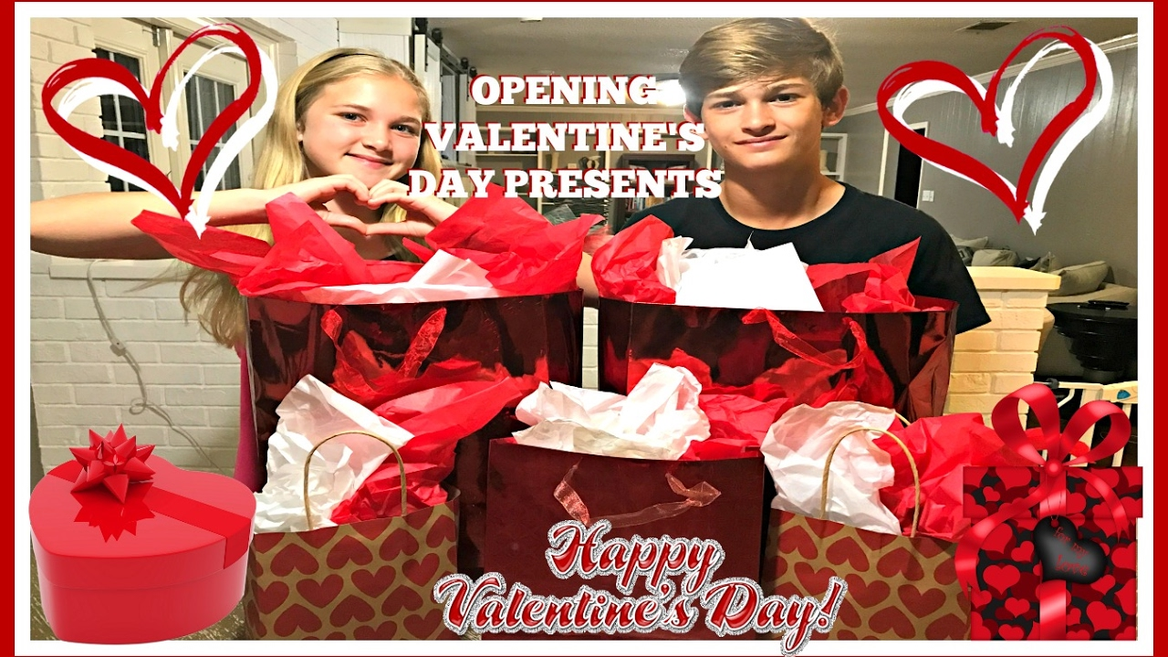 Valentine S Day Present Opening And Haul And A Special Gift From