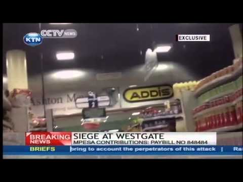 Most chilling video of the Westgate attack