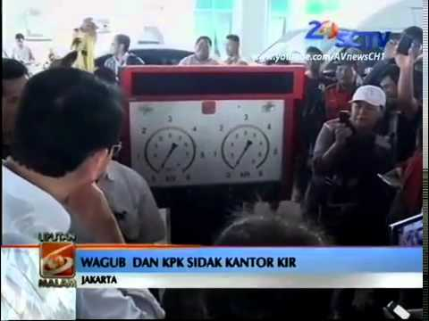 Ahok Marah di Balai Uji KIR Kedaung Angke, Jakarta Barat - Agen Bola Tangkas