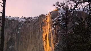 "Yosemite's breathtaking ""Firefall"" is back – but not for long"