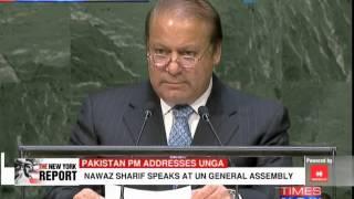 Pakistan PM Nawaz Sharif on Kashmir