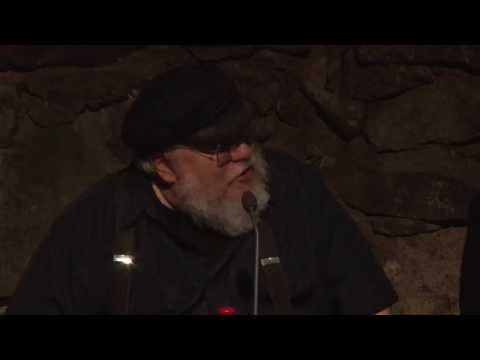 George R R Martin visiting SF-Bokhandeln