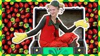 Spadli z jahody - Chrobáci Jula a Chmuľo - hravé pesničky pre deti