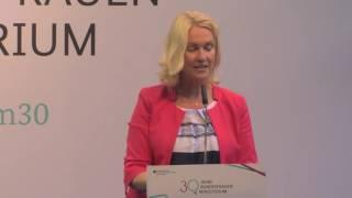 Rede von Manuela Schwesig anlässlich des Empfangs 30 Jahre Bundesfamilienministerium thumbnail