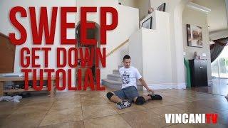 Nauka tańca Breakdance | Sweep Get down