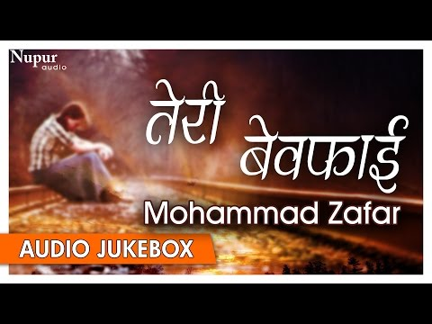 Teri Bewafai | Mohammad Zafar | Best Collection of Heart Broken Hindi Sad Songs | Nupur Audio