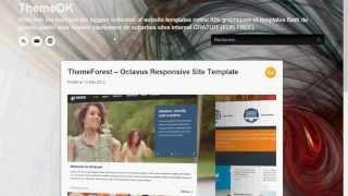 Thèmes et modèles graphiques web et templates de grande qualité gratuit