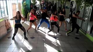 adrenalina - wisin feat Jlo y ricky martin ( sandunga fitness)