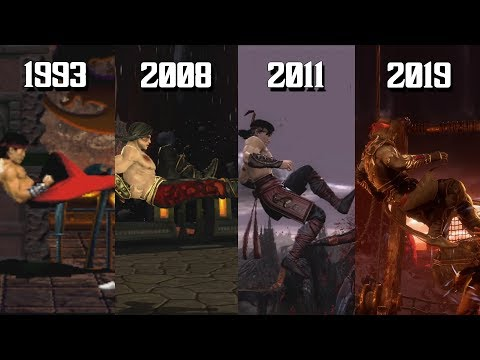 The Evolution of Liu Kang's Bicycle Kick! (1993-2019)