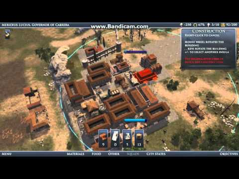 Lets Play Grand ages Rome Gold EP1 Bread and circuses Part 2 |