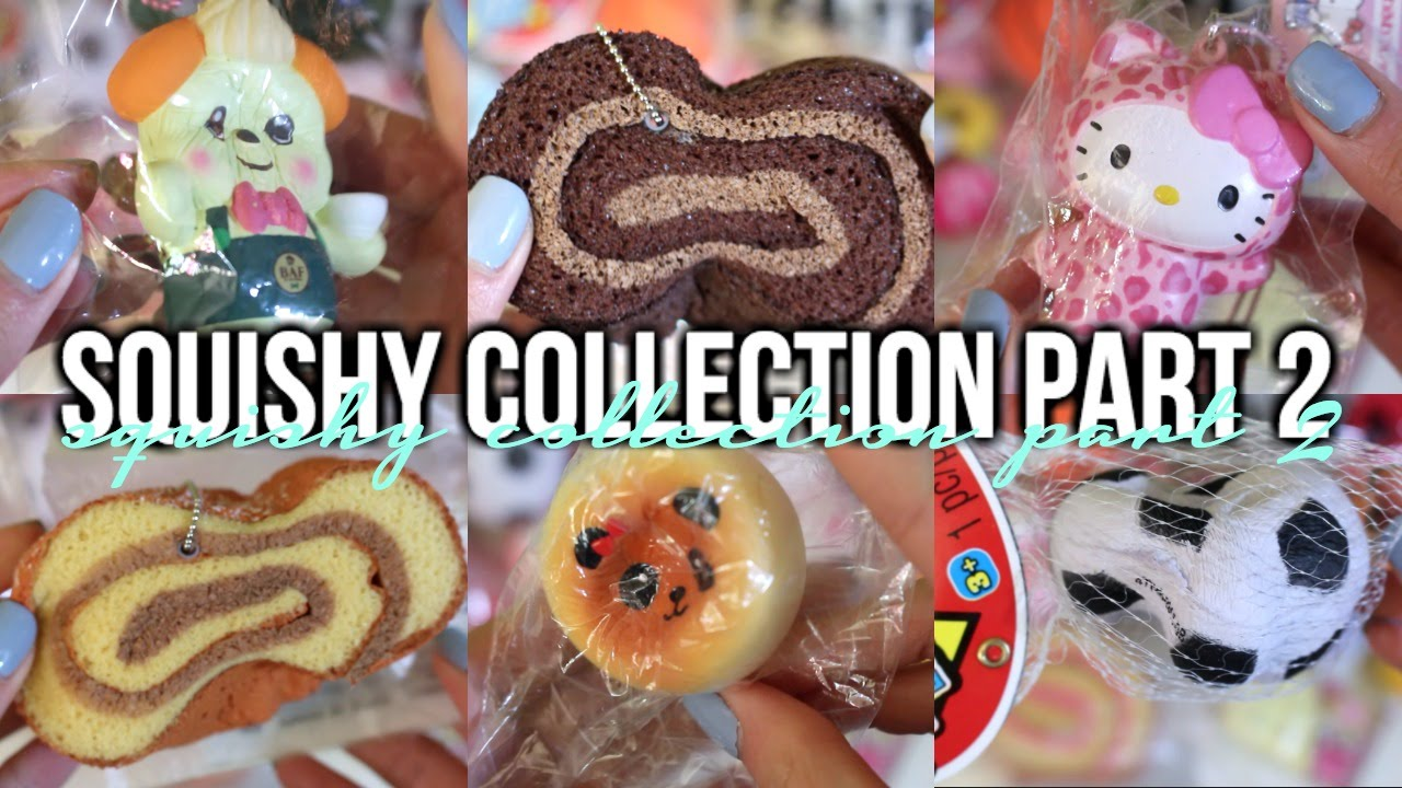 Squishy Collection 2016 : Squishy Collection 2016 [Part 2] Cyndercake415 - YouTube