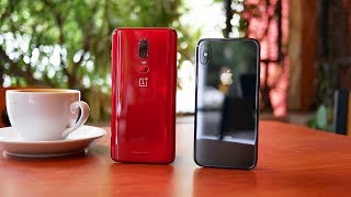 OnePlus 6 vs Apple iPhone X: Sorry Apple! | Pocketnow